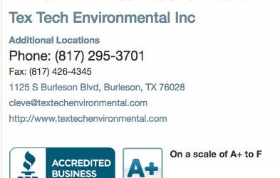 A+ Rating with BBB for Sewage Treatment